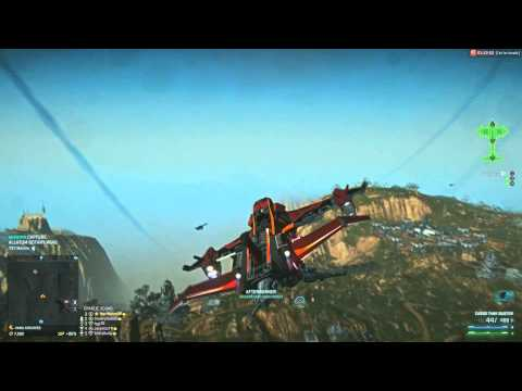 Planetside 2: Basic unused liberator stuff+PONO geting REKT