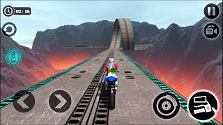 Impossible Motor Bike Tracks - New Bikes Unlocked All Levels 3 Stars