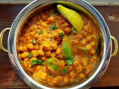 Authentic & Awesome Chana Masala (Chickpea Curry) - Steven Heap