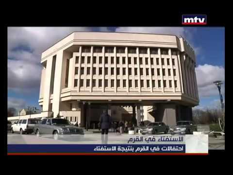 Pro Russians Celebrate after Crimea Referendum – MTV Lebanon News – Jean Nakhoul – 17-03-2014