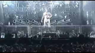 Клип Rammstein - Buck Dich (live)