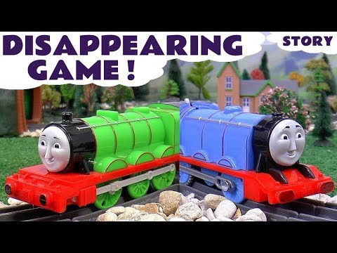 Thomas and Friends Funny Game Play Doh with Toys and Trackmaster Toy Trains Fun Kids Videos