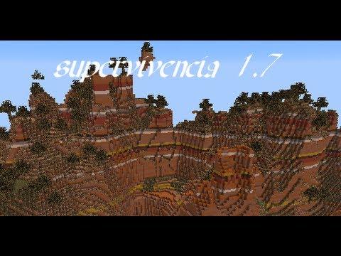 Supervivencia minecraftera 1.7-parte 1