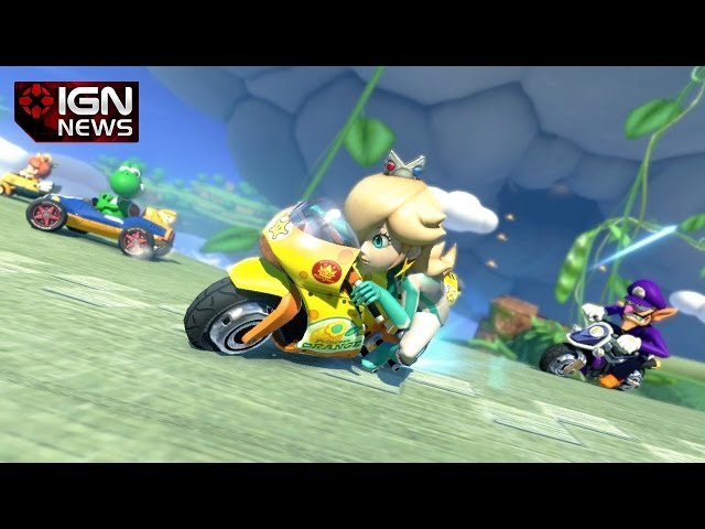 Mario Kart 8 Is Getting a 200cc Mode - IGN News