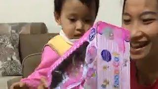 Đập hộp đồ chơi trẻ em ông già noel tặng ❤ Trò chơi trẻ em ❤ Đồ chơi xếp hình Lego, búp bê trẻ em
