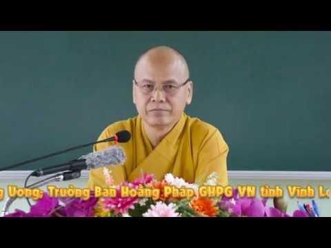 Tọa Thiền Chỉ Quán Phần 11 (Trải Duyên Đối Cảnh) - TT. Thích Minh Đạo