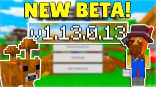 MCPE 1.13.0.13 BETA NEW Changes Added & Minecraft Pocket Edition Java Parity