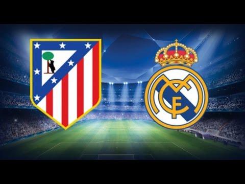 Atletico madrid vs Real madrid 2015 Champions league 14/04/2015 HD | simulacion