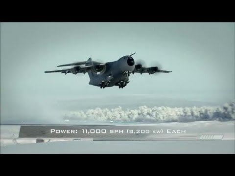 Airbus Group - A400M Heavy Airlifter Capabilities [480p]