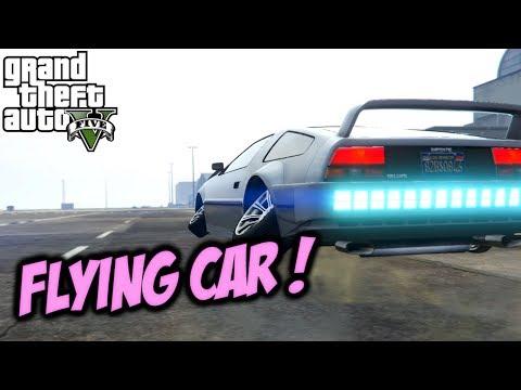 GTA 5 School Story #2 (Flying Car)