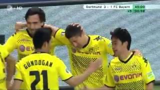 Goals - Highlights / Borussia Dortmund vs Bayern München / 5-2