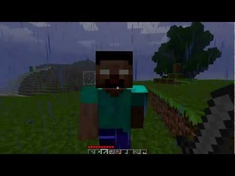 how to build herobrine in minecraft