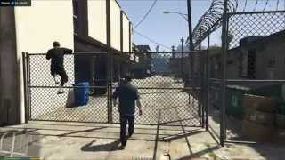 GTA 5 Grand Theft Auto V Gameplay Nvidia Geforce GT 730m 2GB