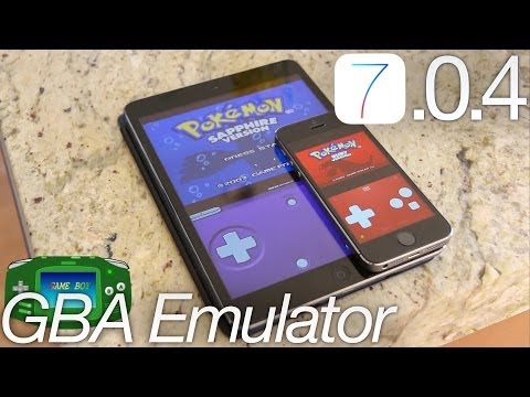 NEW Install GBA Emulator Without iOS 7.0.4 Jailbreak FREE Gba4iOS 2.0  iPhone 5S.iPod iPad & Roms