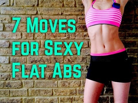 7 Moves For Sexy Flat Abs video