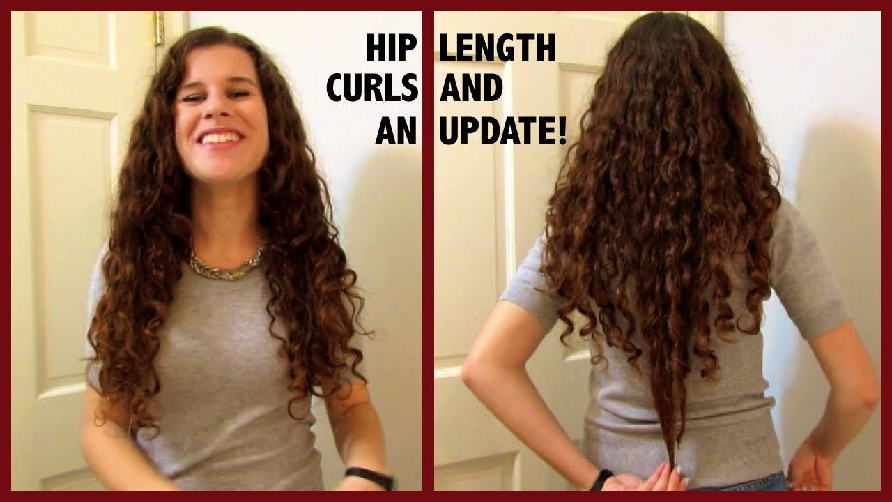 Length Check Hair Goals Amp My Hip Length Hair YouTube