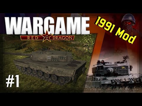 Wargame: Red Dragon - 1991 Mod #1 | 1vs1 vs Elefant | Landjut Motorized | Highway to Seoul