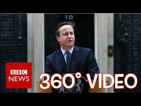 David Cameron calls EU referendum for June (360 video) BBC News