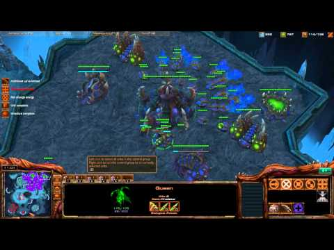 Starcraft II - Zerg Tutorial Working up from Bronze League - Part1