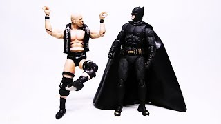 Stone Cold meets The Undertaker, Batman, Tony Stark, Bumblebee and more Superheroes