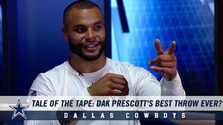 Tale of the Tape: Dak Prescott's Best Throw Ever? | Dallas Cowboys 2019