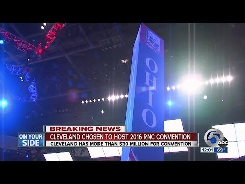 NOON: RNC recommends Cleveland for 2016 convention