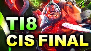 WINSTRIKE FlyToMoon vs ESPADA - CIS GRAND FINAL - TI8 PUDGE DOTA 2