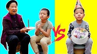 Trò Chơi Tiệc Sinh Nhật Nhà Giàu - Nhà Nghèo - Bé Nhím TV - Đồ Chơi Trẻ Em Thiếu Nhi