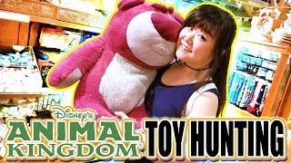 TOY HUNTING in Disney World Animal Kingdom - Custom Avatar Doll, Cute Disney Toys and VLOG!