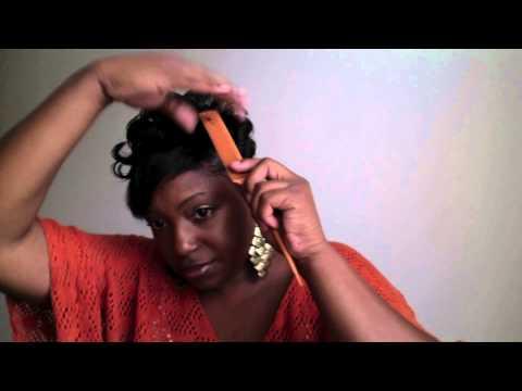 Short Hair Tutorial - How to style my short black hair (Black Women/WOC)