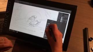 "Wacom MobileStudio Pro 16"" Review by Concept Artist"