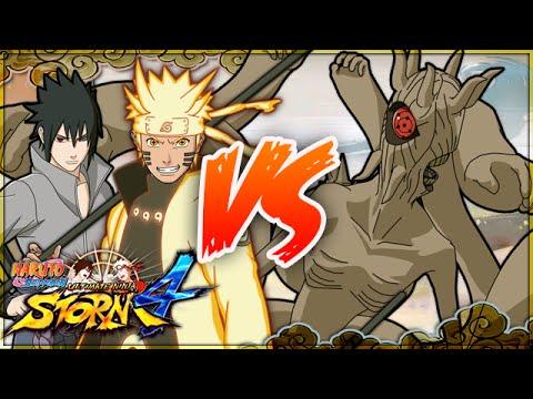 NARUTO SHIPPUDEN: Ultimate Ninja STORM 4 | Naruto & Sasuke VS Ten-Tails (Juubi)