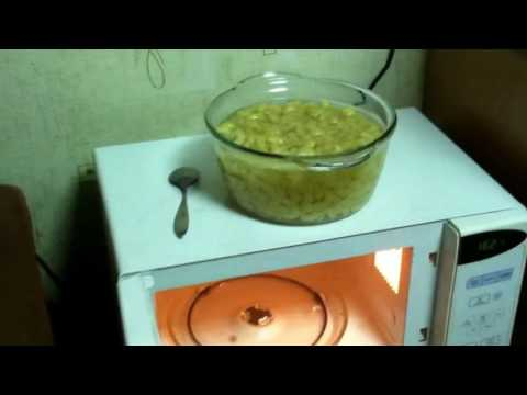 Макароны в микроволновке, приготовления макарон, СПАГЕТТИ в микроволновой печи, СВЧ печь рецепт