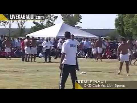 Toronto Kabaddi Cup 2014 Semi Final 1  Canada Kabaddi 2014 video