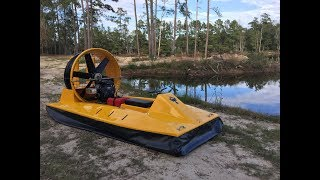 Personal hovercraft tackles all terrains