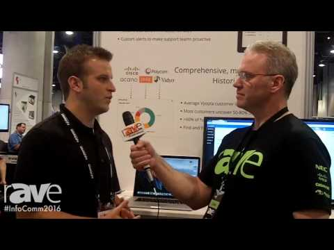 InfoComm 2016: Corey Moss Interviews Jacob Borgeson, Sr.Product Marketing Manager of Vyopta