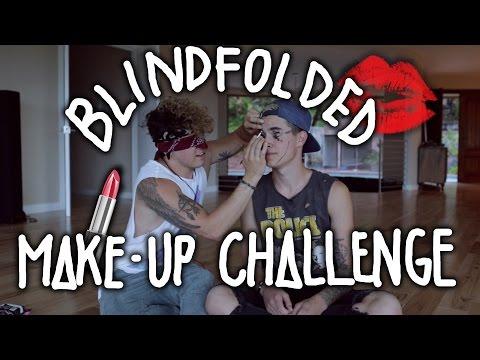 Blindfolded Make-Up Challenge