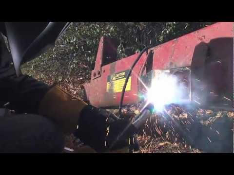 Farm Welding Repair: Rebuilding a Trailer Hitch