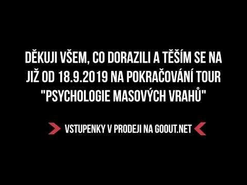 TOUR psychologie sériových vrahů