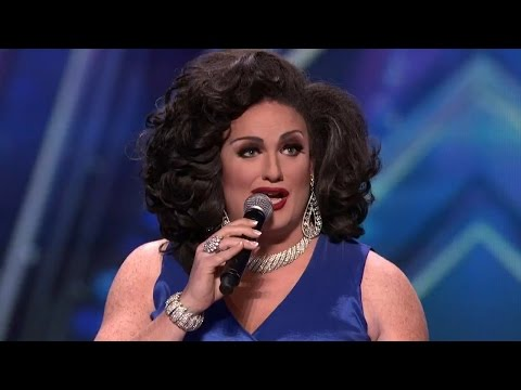 America's Got Talent 2015 S10E07 Delighted Tobehere Surprise Drag Queen Singer