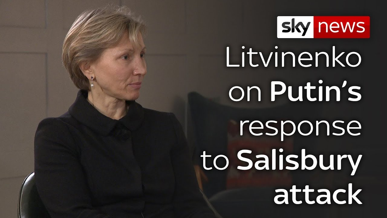 Litvinenko's wife on Salisbury poisoning