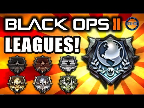 Black Ops 2 - Multiplayer LEAGUES! Emblems & Info! - (Call of Duty Gameplay News)