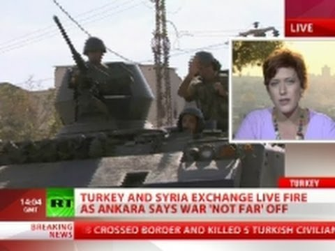 War 'Not Far' Off? Turkey retaliates against Syria for fifth day
