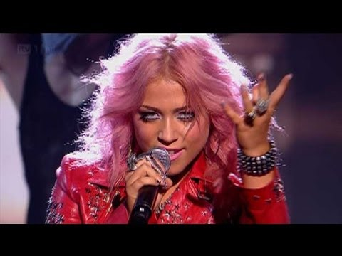 Amelia Lily rocks Billie Jean - The X Factor 2011 Live Show 1 - itv.com/xfactor