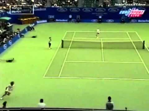 Martina Hingis vs Justine Henin 2000 AO Highlights