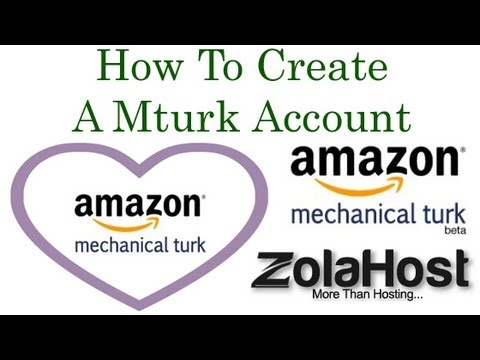 How To Create and Activate A Mturk Account