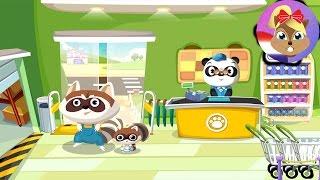 DR PANDA SUPERMARKET app Nederlands - MET PANDA IN HET WINKELCENTRUM! Speel met mij apps en games