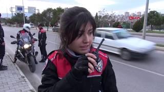 Samsun 39 Un Tek Motosikletli Kadın Polisi Göreve Başladı