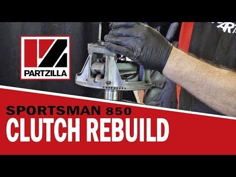 Polaris Primary and Secondary Clutch Removal and Rebuild   Partzilla.com