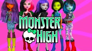 Create A Monster High Doll Add On Clothing Pack CAM Mystixx Dolls Dress Up Set Cookieswirlc